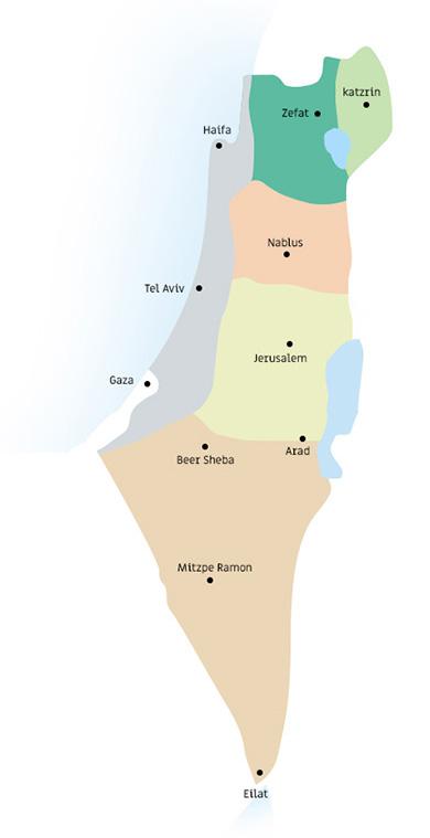 מודרני Israel Wine Map - סומלייה Sommelier : סומלייה Sommelier JK-17